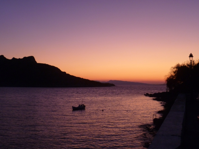 Greek Island Sunset from when I was on a sailing holiday in 2011