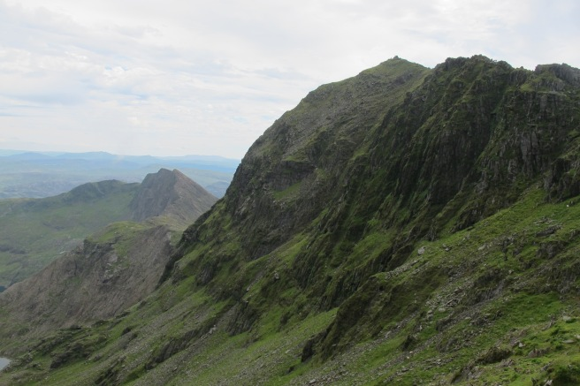 The top of Snowdon just beyond our reach